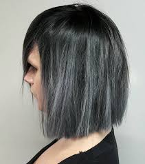 black grey hair 20 shades of the grey hair trend