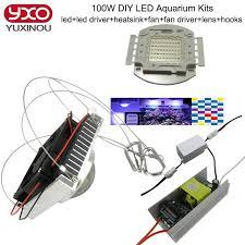 best fan for aquarium 50w 100w aquarium light for coral diy 100w multichips led aquarium