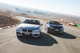 nissan maxima or similar four seasons 2016 nissan maxima sr vs 2016 bmw 340i automobile
