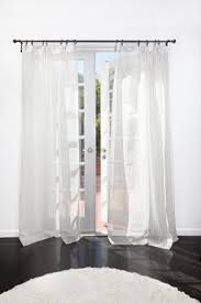 sheer belgian linen drapery linens window and rod pocket