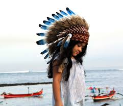Native American Inspired Clothing On Sale Kids Feather Headdress Indian Style Indian Headdress