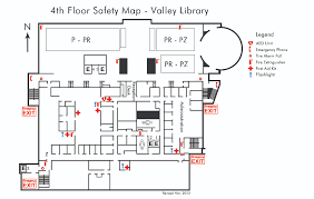 Fire Evacuation Floor Plan Library Safety Essentials Safety Valley Library Confluence