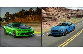 mustang or camaro chevy camaro vs ford mustang what s the better car to buy