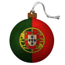 portugal flag soccer futbol football wood tree