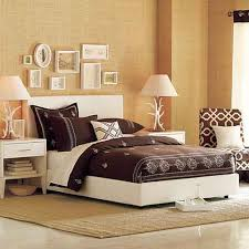 bedroom artistic quilt stylish table lamps low profile bed wall