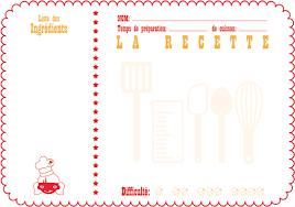 recette de cuisine a imprimer printable cachemire soie du bonheur de la créativité et