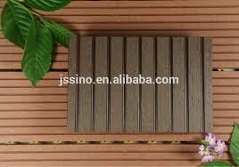 good price wood plastic patio floors waterproof outdoor deck floor