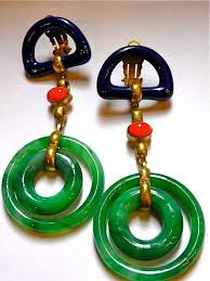 70 s earrings 54 best 60s 70s chanel reference images on vintage