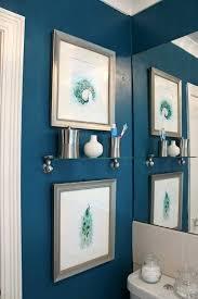 Peacock Bathroom Decor The Power Paint Peacock Blue Bathroom