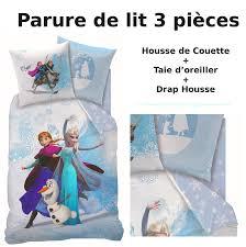 Chambre Reine Des Neiges by Reine Des Neiges Parure De Lit 3pcs Housse De Couette Taie