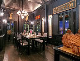 chon thai restaurant in bangkok the siam hotel bangkok