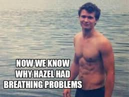 The Fault In Our Stars Meme - ansel elgort memes jokes only divergent tfios fans will appreciate