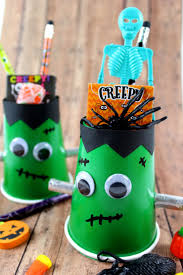 frankenstein halloween treat cups frugal mom eh