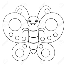cute butterfly coloring page contegri com