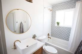 Mid Century Modern Bathroom Before After Eclectic Modern Bathroom Flippinwendy Design
