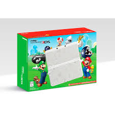 new nintendo 3ds super mario white edition walmart com