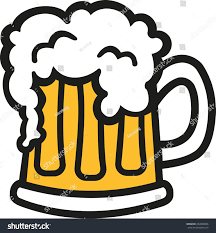 beer glass svg beer mug cartoon foam stock vector 402860080 shutterstock