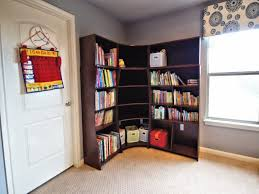 Corner Wall Bookcase Save Your Space With Wall Corner Bookshelves Bookshelvesdesign
