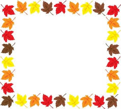 fall leaves clipart black and white border clipart panda free