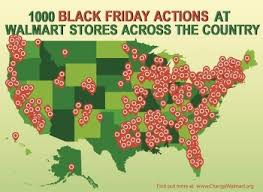 black friday maps target national walmart protest reaches east county as leafletters target
