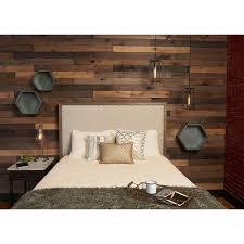 reclaimed barn wood style weathered hardwood rustic boards 8