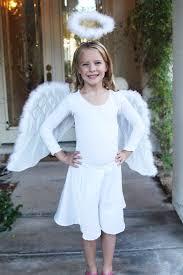 Girls Angel Halloween Costume Angel Costume Notricksalltreats Disfraz Costumes