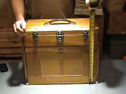 Tool Cabinet Wood Wooden Knife Chest Youtube