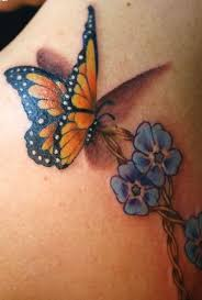 monarch tattoo tats pinterest blue monarch butterfly tattoo