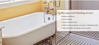 bathtub refinishing bathtub reglazing and bathtub repair