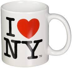 Heart Shaped Mug by Amazon Com I Love Ny Mug White Ceramic 11 Ounce I Love Ny Mugs