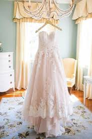 tulle wedding dress light blush pink sweetheart tulle wedding gowns with lace