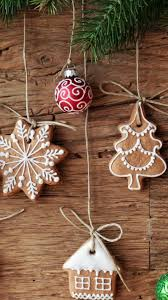 christmas cookies ornaments iphone wallpapers merry christmas and