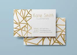 gold business card template modern business card design