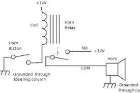 gm horn relay wiring diagram wiring diagram