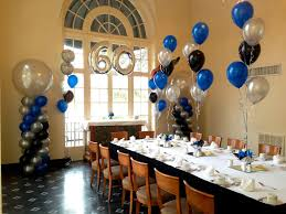 event decorating company 60th birthday for this