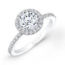 halo engagement ring settings 18k white gold halo bezel set acce