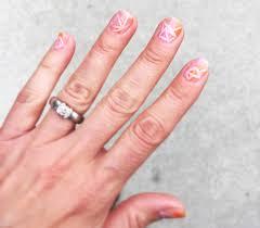 pastel geometric nail art tutorial parlor diary