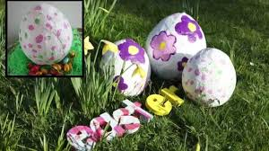 Easter Decorations Amazon by Diy Easter Decorations How To Make A Plaster Cloth Easter Egg