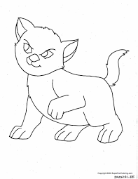 kitten coloring pages coloring page for kids kids coloring