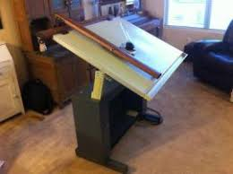 Vemco Drafting Table Track Drafting Machines Equipment Shipping Vemco Xii V