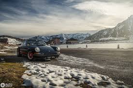 porsche 911 snow photography porsche 911 2 7 rs in the swiss alps