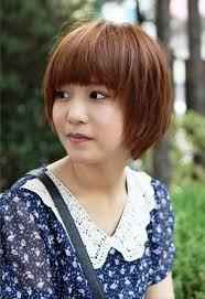 photo korean short hairstyles pictures of cute short korean bob