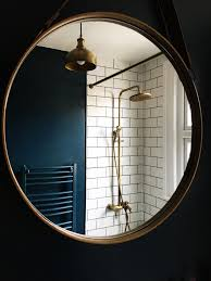 brass bathroom mirror antique brass showerhead shower rose brass industrial light