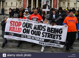 campaign group u0027stop our kids being killed on our streets u0027 hold a