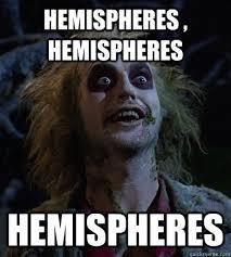 Beetlejuice Meme - hemispheres hemispheres hemispheres beetlejuice meme quickmeme