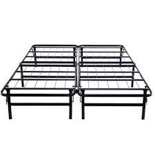 How To Put A Bed Frame Together King Metal Bed Frame Handy Living Wood Slat Bed Frame King