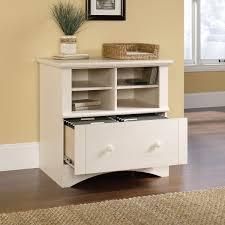 sauderrbor view storage cabinet white amazon com antiqued sauder