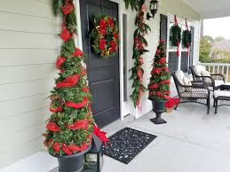 christmas topiary diy tomato cage and garland topiary christmas trees designs