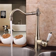 online buy wholesale antique bronze kitchen faucet from china