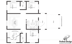 1108 sq ft modern single floor home kerala home design the living and dining room are spacious and very well designed kitchen are really spacious this plan is designed in a manner for the latest interior